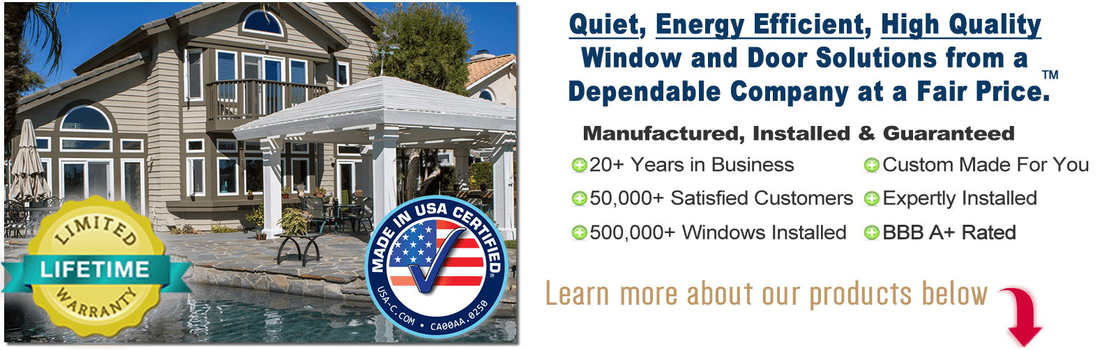 A Window and Door for Every Budget - Made in the USA