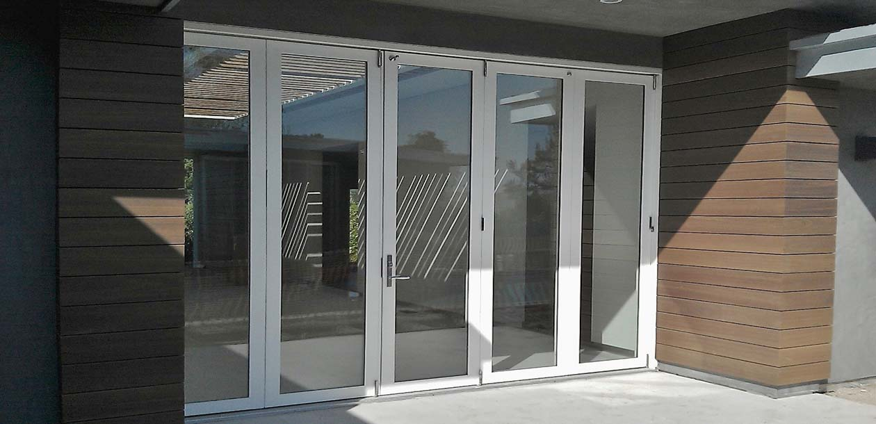 Exterior Folding Doors By Windor Replacement Windows And