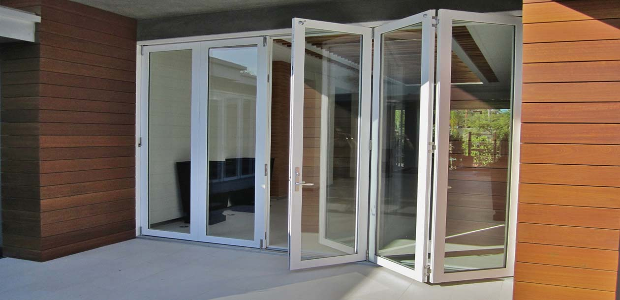 Folding doors folding doors vinyl for Andersen folding patio doors