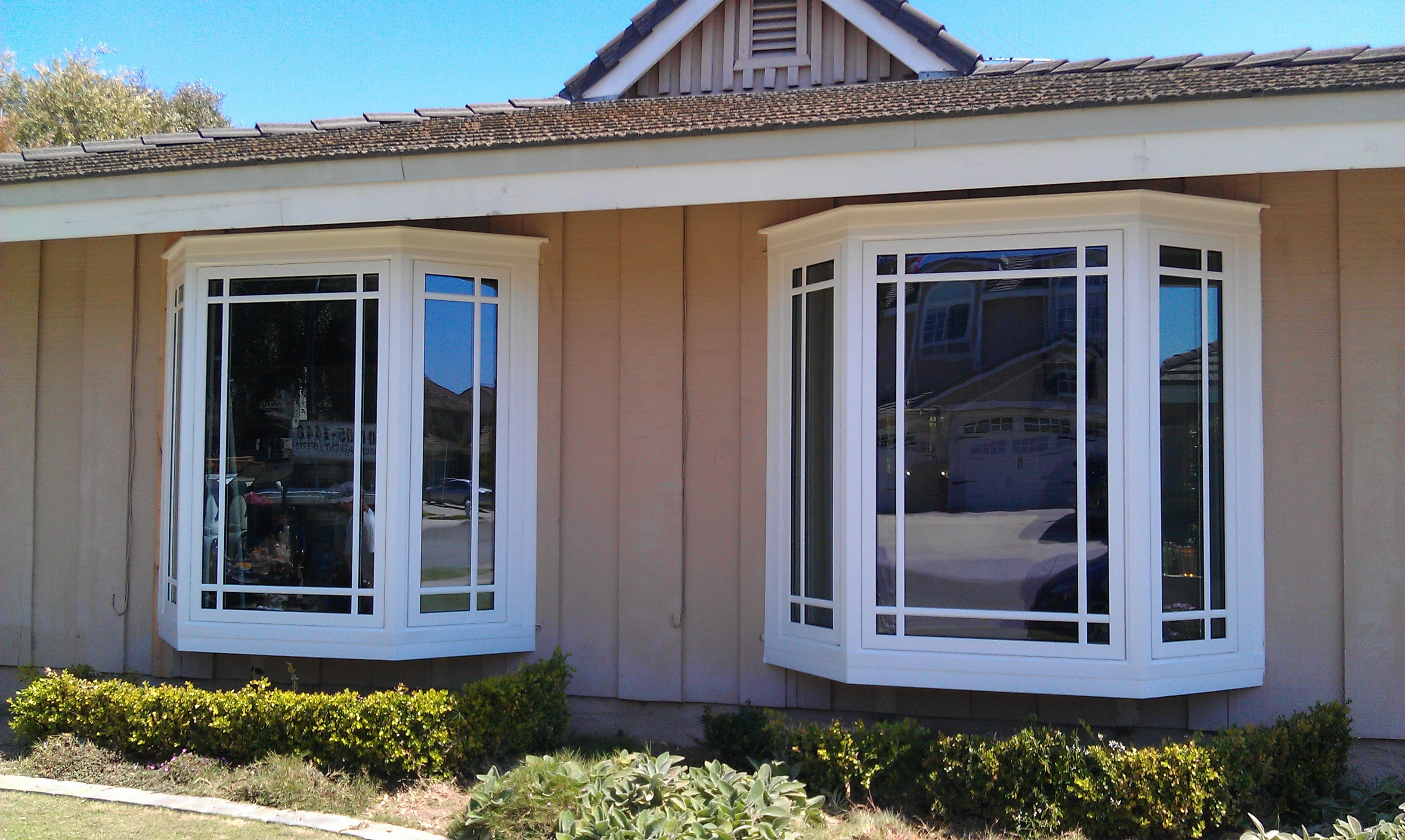 bay windows and bow windows add more living space to your room
