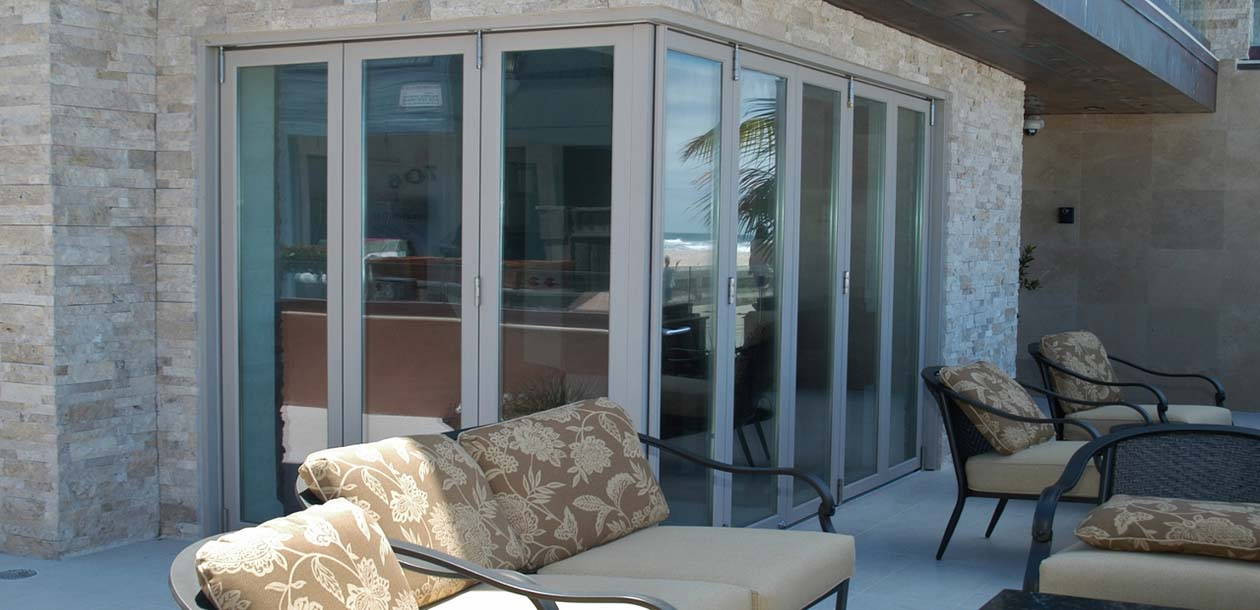 Bifold door exterior bifold doors for Exterior folding doors