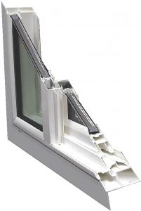 Win-Dor Classic 2000 Series Vinyl Window Replacement System