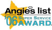 Angie's List Super Service Award Winner 2006
