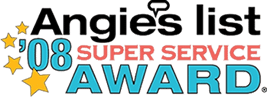 Angie's List Super Service Award Winner 2008