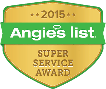 Angie's List Super Service Award Winner 201