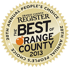 OC Register Best of OC Award 2013