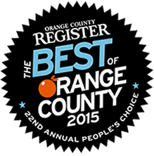 OC Register Best of OC Award 2015