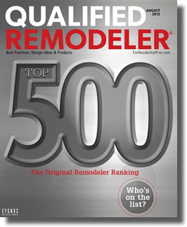 Qualified Remodeler Magazine Top 500
