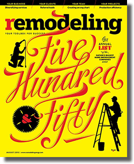 Remodeling Magazine Top 500